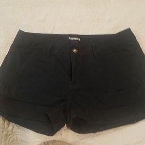 Express cuffed shorts